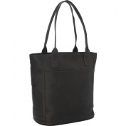 Piel Leather 2967 - CHC Xl Laptop Tote Bag - Chocolate