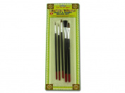 Craft and hobby brush set -set of 5 - Pack of 72