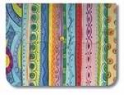 Divinity Boutique 92252 Notepad-Hand Size-Fun Stripes