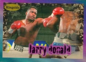 Autograph Warehouse 84421 Larry Donald Card Boxing 1996 Ringside No .10