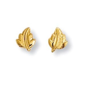 SF Bijoux Gold-Plated Earrings for Children