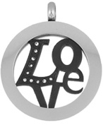 Doma Jewellery MAS02994 Stainless Steel Pendant - 33mm height