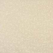 Designer Fabrics F637 140cm . Wide Ivory Geometric Outdoor Indoor Marine Scotchgarded Fabric