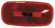 Peterson Mfg V254915R Turn Signal-Parking-Side Marker Light Lens Red