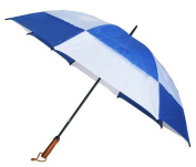 Conch Umbrellas 7862Blue 150cm . Jumbo Golf Double Canopy Windproof Umbrella