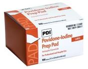 PDI C12400 PVP Iodine Prep Pad Large 100 per Box