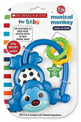 Scholastic Musical Monkey - Blue