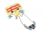 Official Licenced One Direction 1D Necklace & 2 Pairs Earrings Set