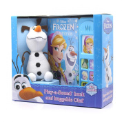 Disney Frozen Play A Sound Book And Huggable Olaf