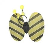 GIZZY® Girls Bee Wings and Deeley Boppers Fancy Dress Set