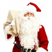 Malloom® Santa Claus Wig + Beard Set Costume Accessory Adult Christmas Fancy Dress