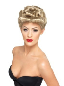 Smiffy's 40's Vintage Wig Blonde with Curls