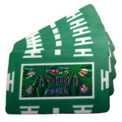 50,000 Value Poker Chip Plaques