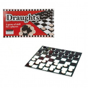 Draughts Board Game Traditional Indoor Fun Boredom-busting game whole family Fun