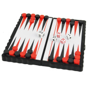 ViVo© Mini Backgammon Pocket Magnetic Travel and Table Top Desk Games Stocking Fillers Xmas Present