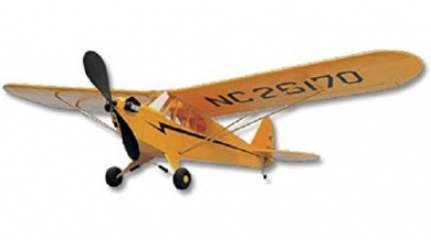 Piper Cub: West Wings Hand-launch Glider Balsa Wood Model R/C Plane Kit WW25