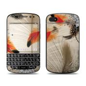 DecalGirl BQ10-FTHRD BlackBerry Q10 Skin - Feather Dance