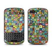 DecalGirl BQ10-LINEDANC BlackBerry Q10 Skin - Line Dancing