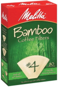 Melitta 63118 80 Count No. 4 Bamboo Filters