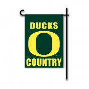 BSI Products 83251 Oregon Ducks 2-Sided Country Garden Flag