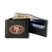 Rico Industries RIC-RBL1902 San Francisco 49ers NFL Embroidered Billfold Wallet