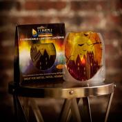 Modgy LUM3001 Lumizu Expandable Luminary Lantern Fall Upon Us