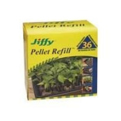 Jiffy-ferry Morse Seed Co-Jiffy Peat Pellet Refill 36 Count