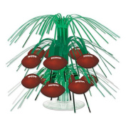 Beistle 54104 Football Mini Cascade Centrepiece Pack Of 12