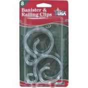 Adams Mfg Corp. 8 Ct Bannister/Railing Clip 2700-99-1045