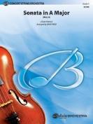 Alfred 00-31570S S Sonata In A Major-Bcs Book