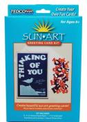 Tedco Toys 88053 Sun Art Greeting Card Kit