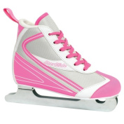 Lake Placid LP100G-01 Starglide Girls Double Runner Figure Ice Skate Pink & White - 1