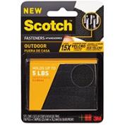 3M Fastener Outdoor 2.5cm X 7.6cm Black RF5731