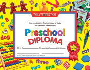Hayes School Publishing H-VA706 Certificates Preschool Diploma 30 Pack