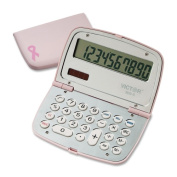 Victor Technologies 9099 909-9 Limited Edition Pink Compact Calculator 10-Digit LCD