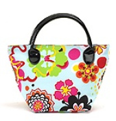 Joann Marie Designs NMTFP Mini Tote - Flower Power Pack of 2