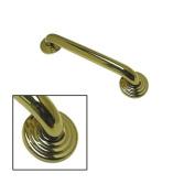 Kingston Brass DR314322 80cm Restoration Decor Grab Bar - Polished Brass