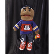 Sunny Toys GL3502 36cm . Ethnic Boy In Blue And Red Glove Puppet