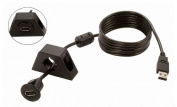 GROM Audio C-USBCBL USB Extension Cable With Two Dash Mounting Options