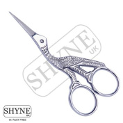 Full Silver Embroidery Scissors And Cross Stitch Sewing Sizes 9.5cm / 11cmFull Silver Embroidery Scissors And Cross Stitch Sewing Sizes 11cm