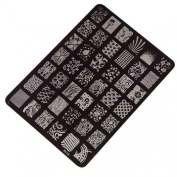 Tonsee® Nail Image Stamps Plate Stamping Manicure Nail Art Decor Stamping Printing Plate