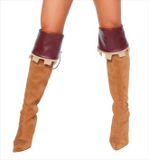 Roma Costume 14-4265B-AS-O-S Sherwood Robyn Boot Cover One Size