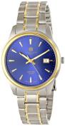 Charles-Hubert Paris Mens Two-tone Titanium Quartz Watch