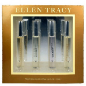 Ellen Tracy awget4 Eau De Parfum Roller ball Collection For Women 4 Piece