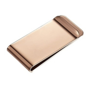 Visol VMC906A Stefan Rose Gold Engravable Money Clip