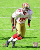 Photofile PFSAAPD09301 Aldon Smith 2012 Action Sports Photo - 8 x 10