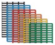 DIY Industries 35-801-1523-603 Grid-Magnet 39cm x 60cm . Black - 2 Pack