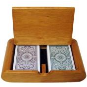 Bry Belly GKEM-403.GPLA-001 Wooden Box Set Arrow Green-Brown Narrow Regular