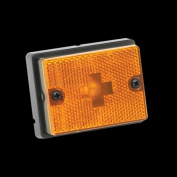 BARGMAN 203111 Side Marker Clear Light Amber