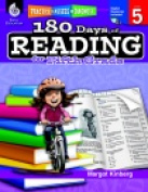 Shell Education Practise Assess & Diagnose - 180 Days Of Reading Grade 5